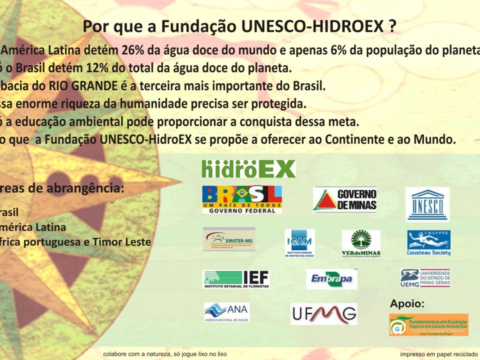 Pesquisadores do HidroEX Drs.
