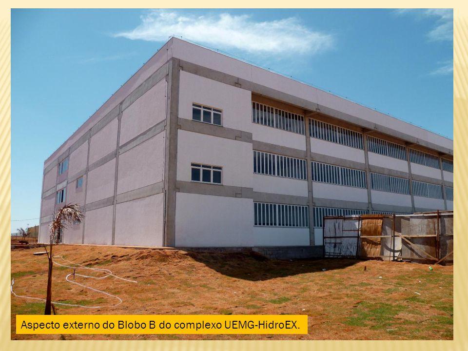 Aspecto externo do Blobo B do complexo UEMG-HidroEX.
