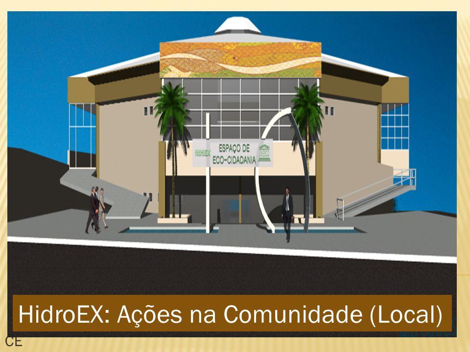 CE HidroEX: Ações na Comunidade (Local)
