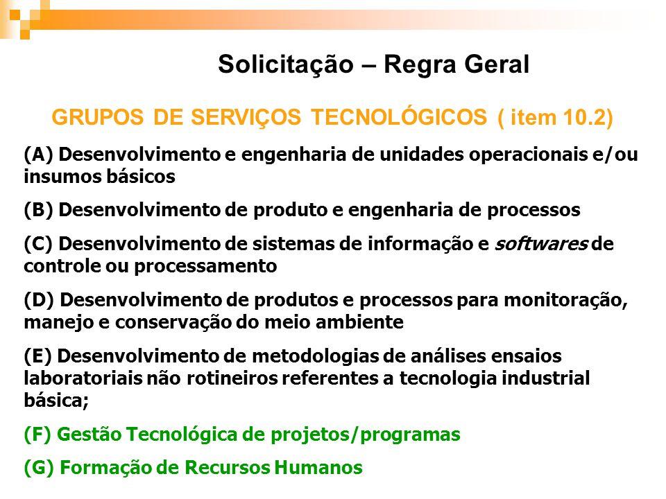 (A) Desenvolvimento e engenharia de unidades operacionais e/ou insumos básicos (B) Desenvolvimento de produto e engenharia de processos (C) Desenvolvi