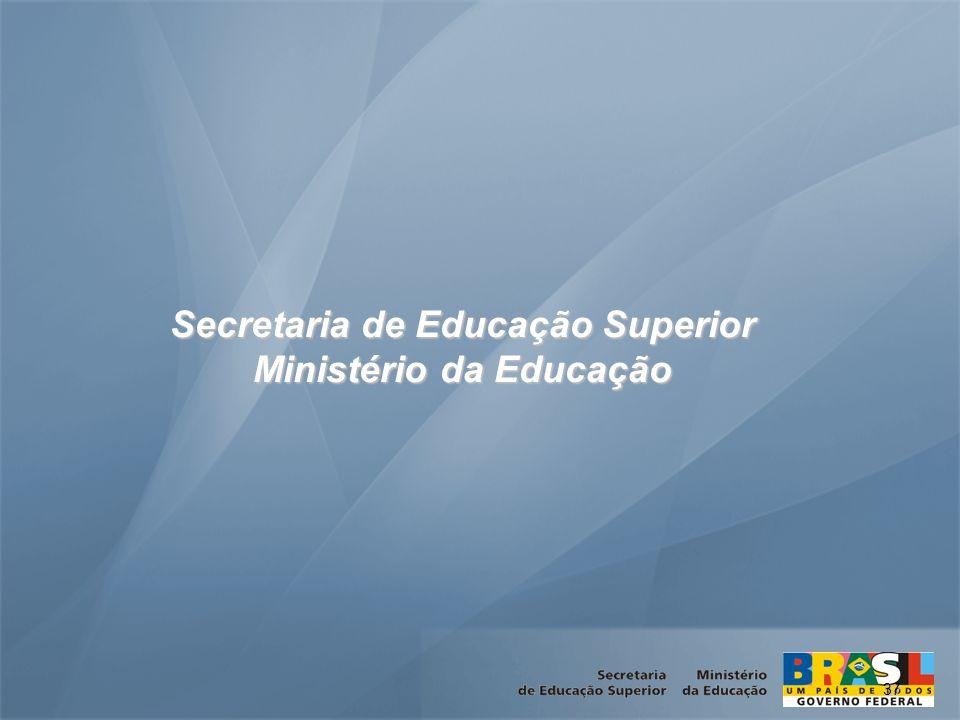 37 Secretaria de Educação Superior Ministério da Educação