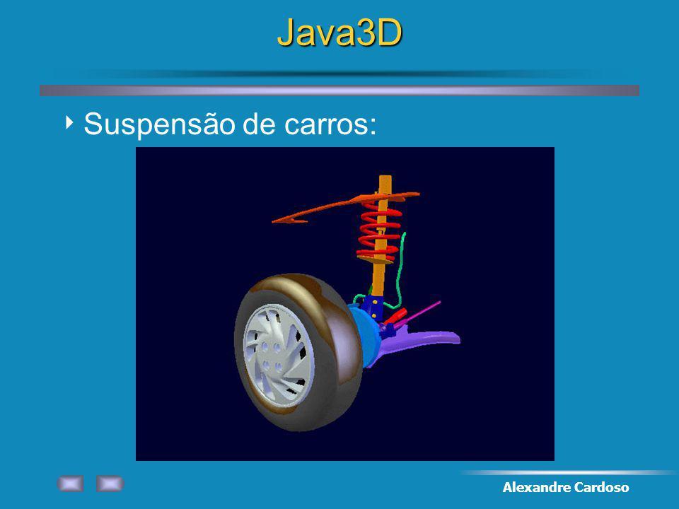 Alexandre CardosoJava3D Suspensão de carros: