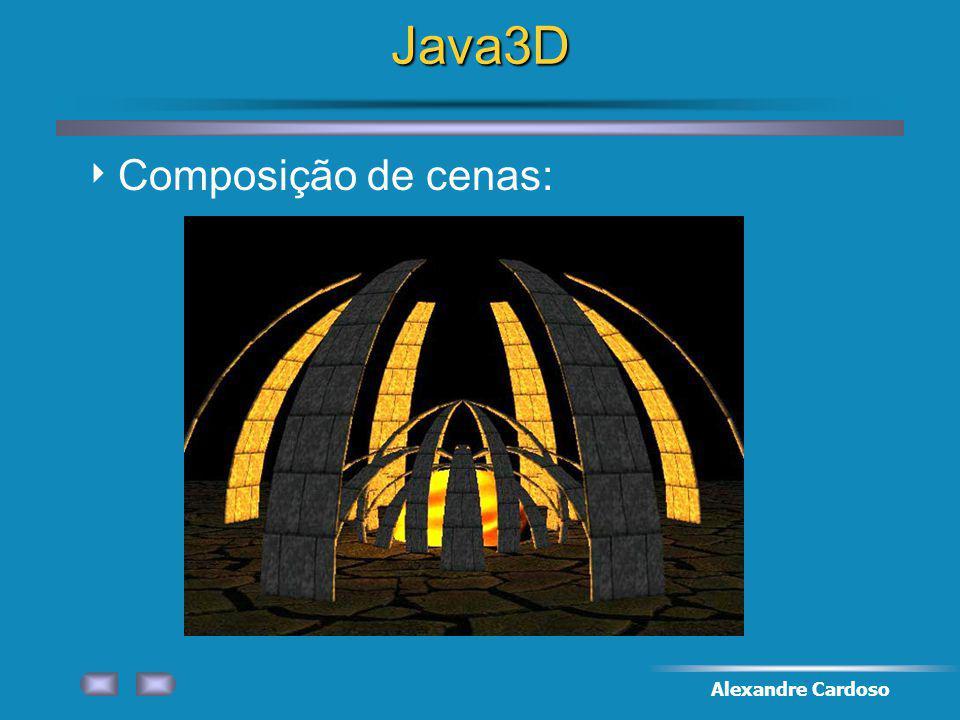 Alexandre CardosoJava3D Composição de cenas: