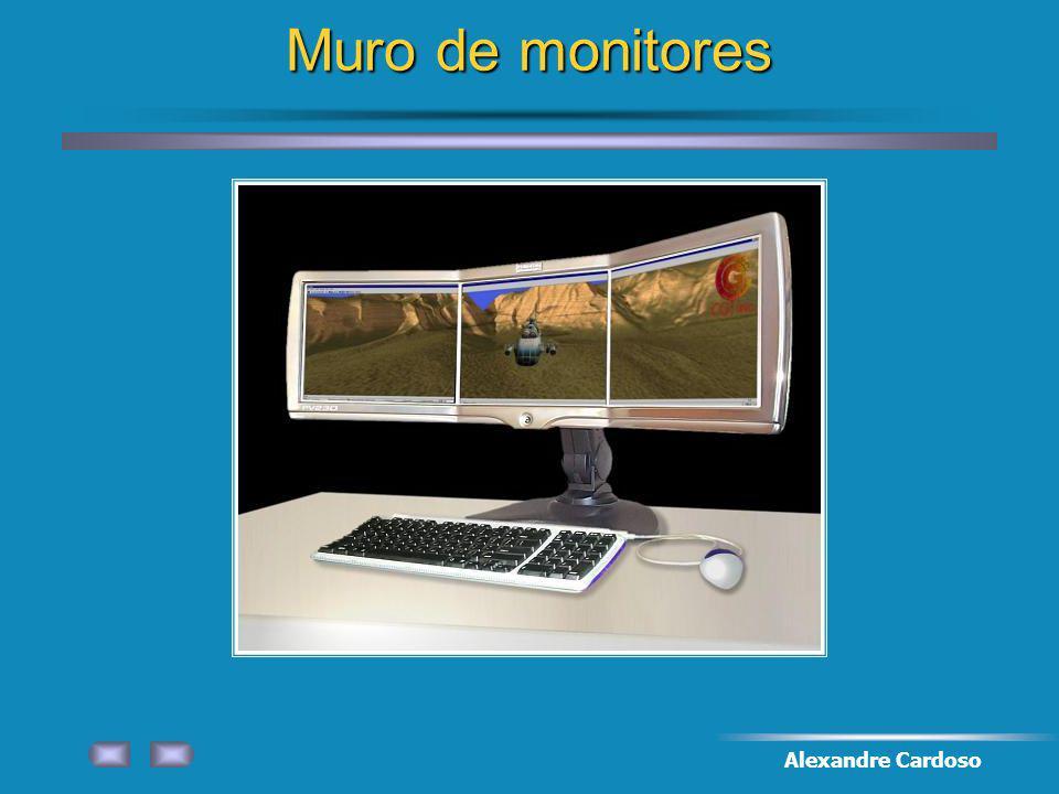 Alexandre Cardoso Muro de monitores