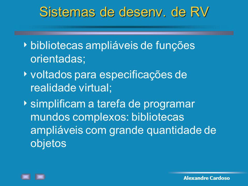 Alexandre Cardoso Sistemas de desenv.