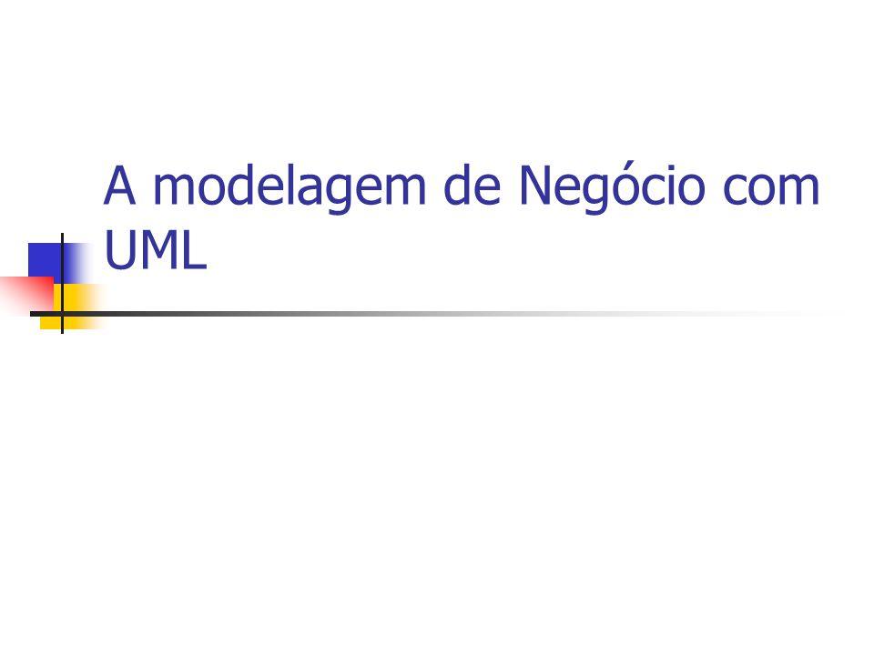A modelagem de Negócio com UML