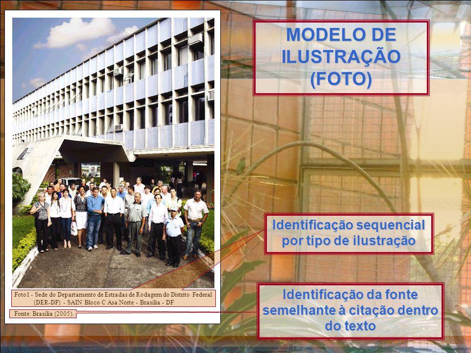 Foto & Formatação: Ancelmo Foto1 - Sede do Departamento de Estradas de Rodagem do Distrito Federal (DER-DF) - SAIN Bloco C Asa Norte - Brasília - DF Fonte: Brasília (2005).