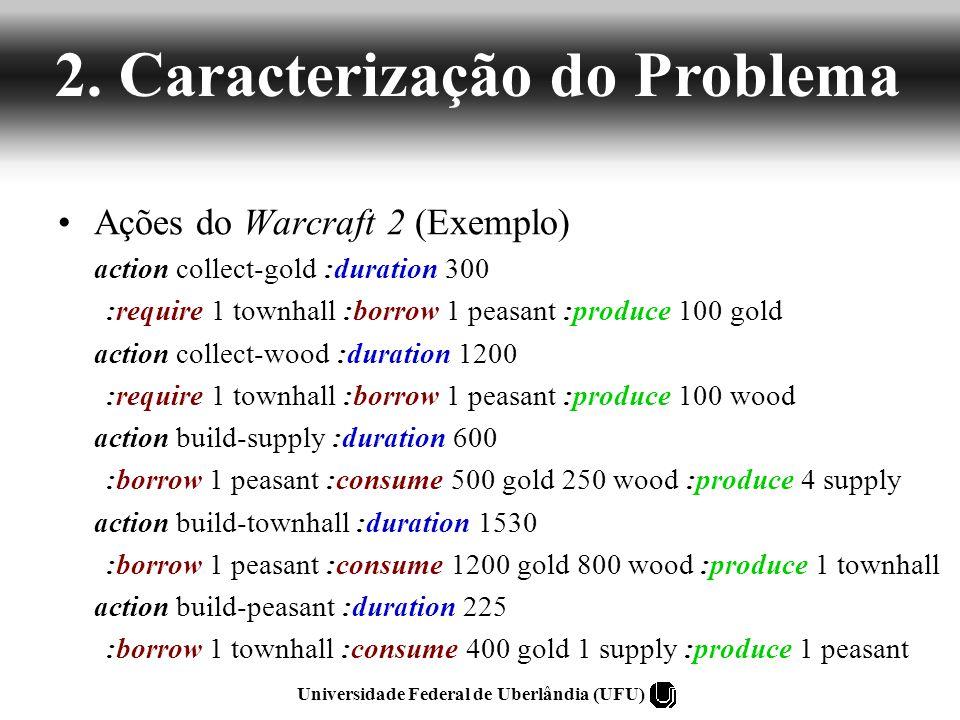 Universidade Federal de Uberlândia (UFU) 1 Peasant 1 Townhall 10000 Gold 1 Peasant 1 Townhall 100 collect-gold É a melhor solução.