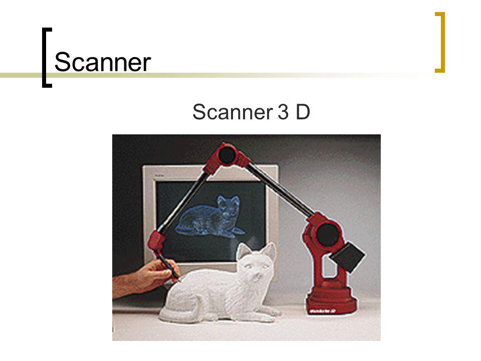 Scanner Scanner 3 D