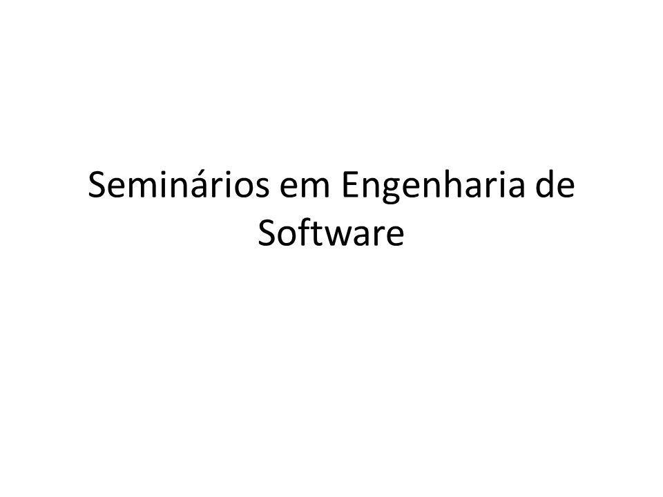 Seminários em Engenharia de Software