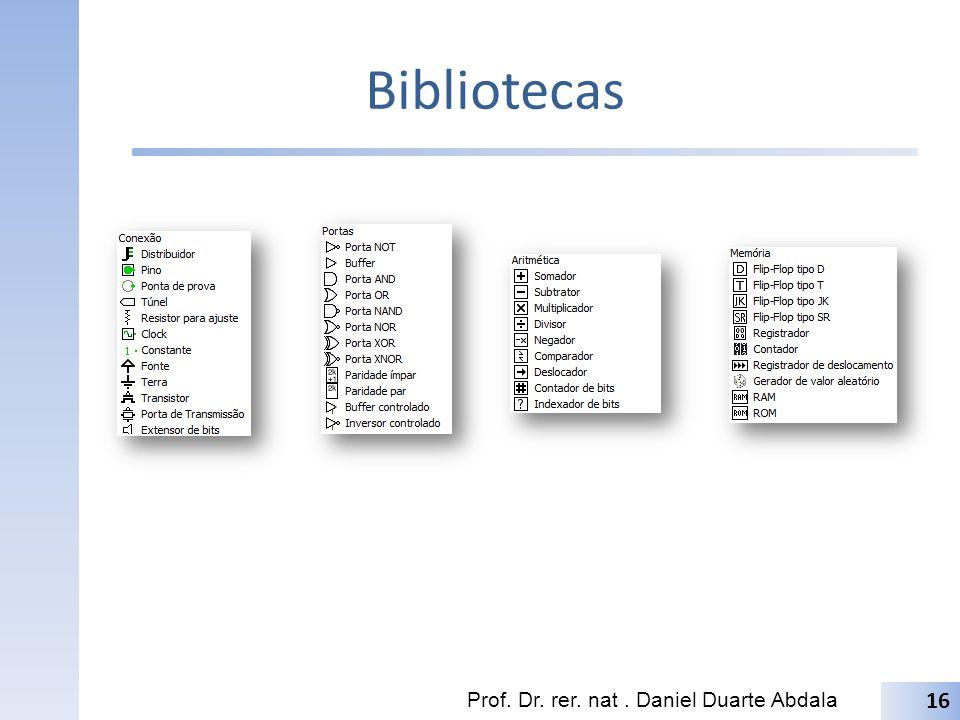 Bibliotecas Prof. Dr. rer. nat. Daniel Duarte Abdala 16