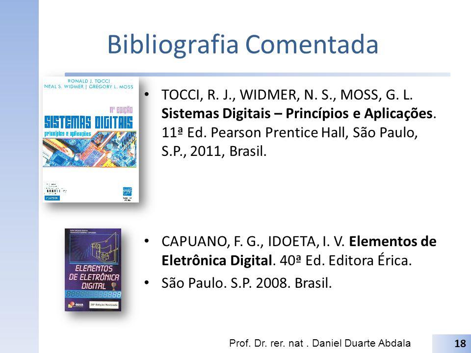 Bibliografia Comentada TOCCI, R.J., WIDMER, N. S., MOSS, G.