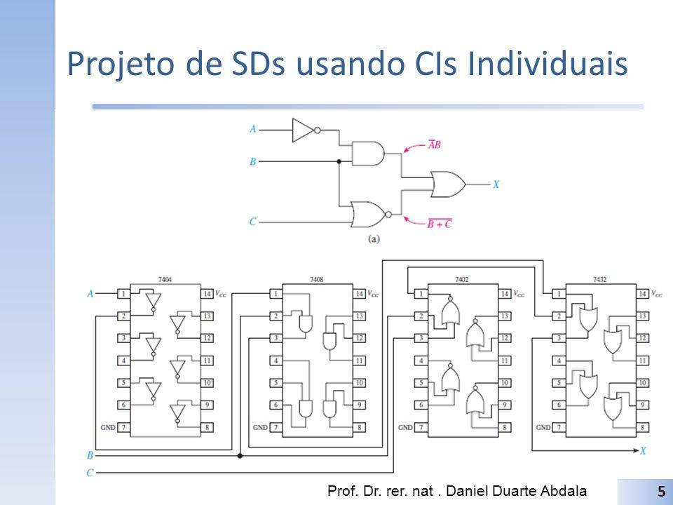 Projeto de SDs usando CIs Individuais Prof. Dr. rer. nat. Daniel Duarte Abdala 5
