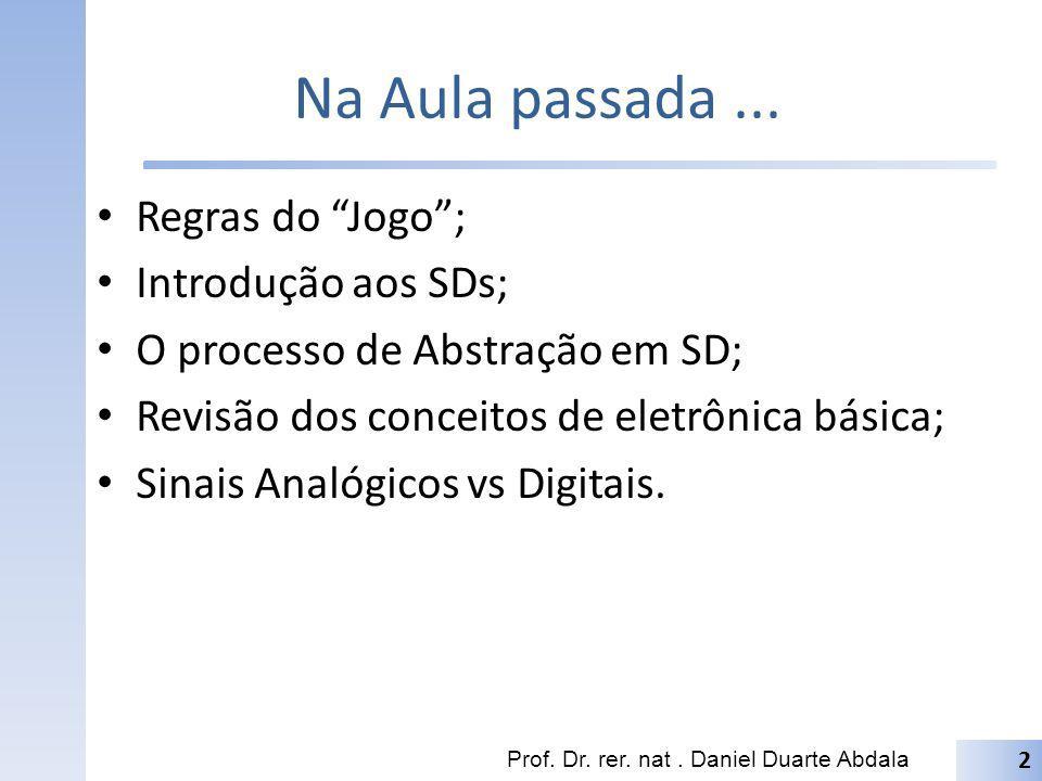 Pro Lar Leitura: (Tocci) 1.4 até 1.5 (pgs.9-14) Leitura: (Capuano) 1.1 até 1.5.3 (pgs.