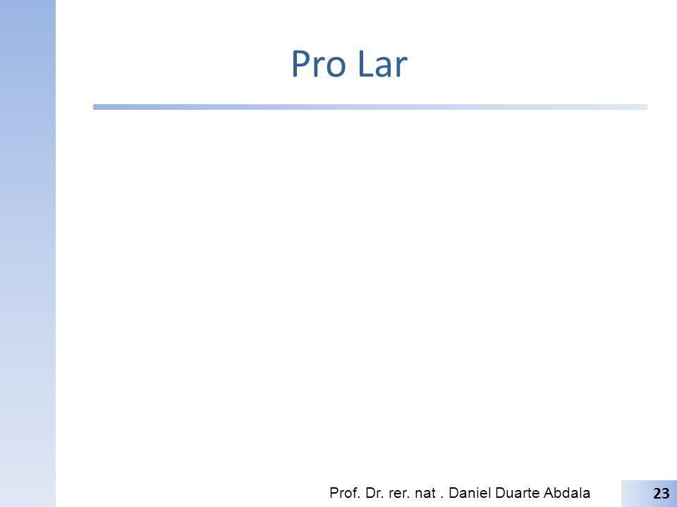 Pro Lar Prof. Dr. rer. nat. Daniel Duarte Abdala 23