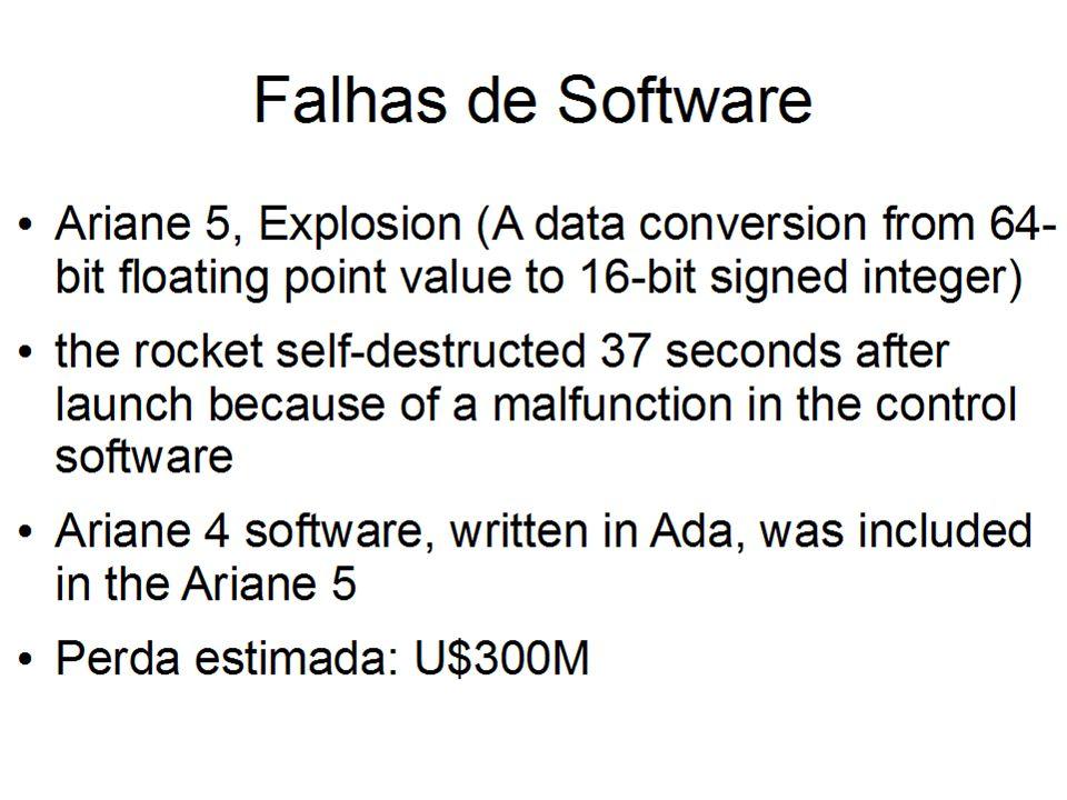 Surgimento da Engenharia de Software Crise do software Conferências NATO (1968 e 1969)