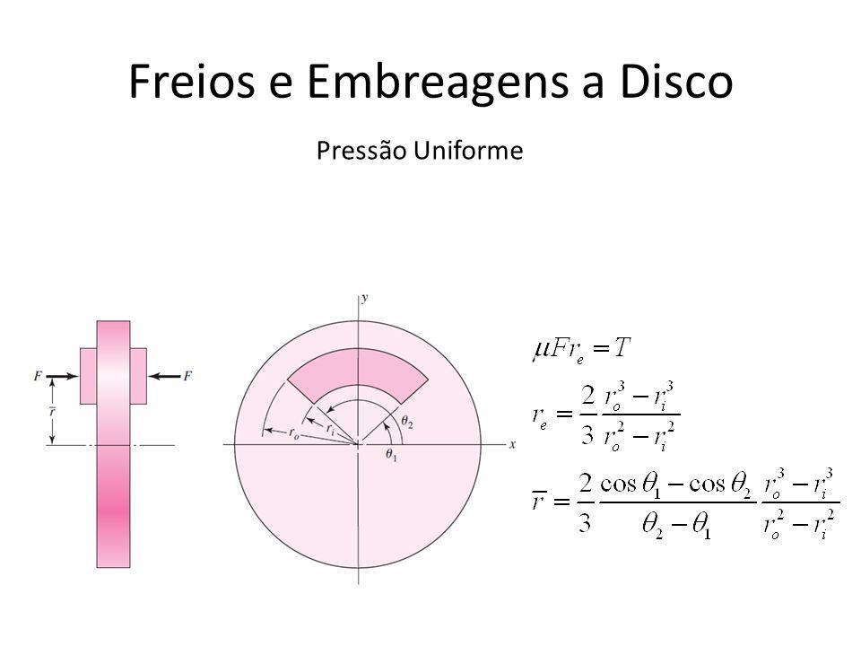 Freios e Embreagens a Disco Pressão Uniforme