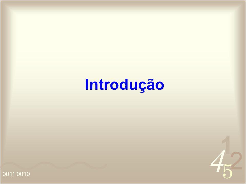 4 2 5 1 0011 0010 Introdução