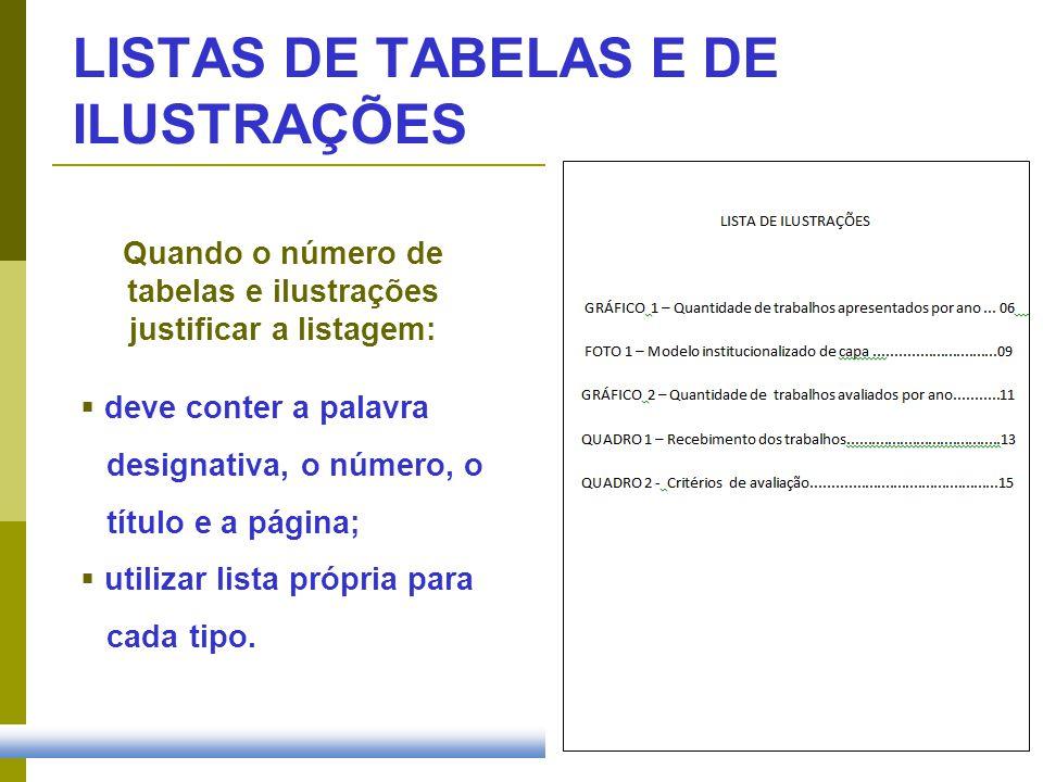 APRESENTAÇÃO DAS REFERÊNCIAS Sistema NuméricoSistema Autor-Data