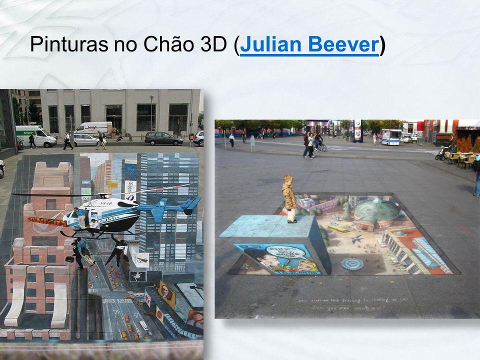 Pinturas no Chão 3D (Julian Beever)Julian Beever