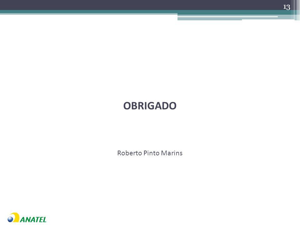 OBRIGADO Roberto Pinto Marins 13