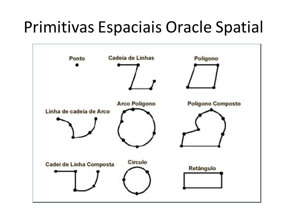 Primitivas Espaciais Oracle Spatial