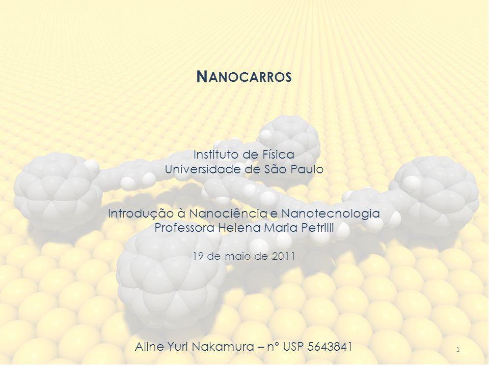 N ANOCARROS Instituto de Física Universidade de São Paulo Introdução à Nanociência e Nanotecnologia Professora Helena Maria Petrilli 19 de maio de 201