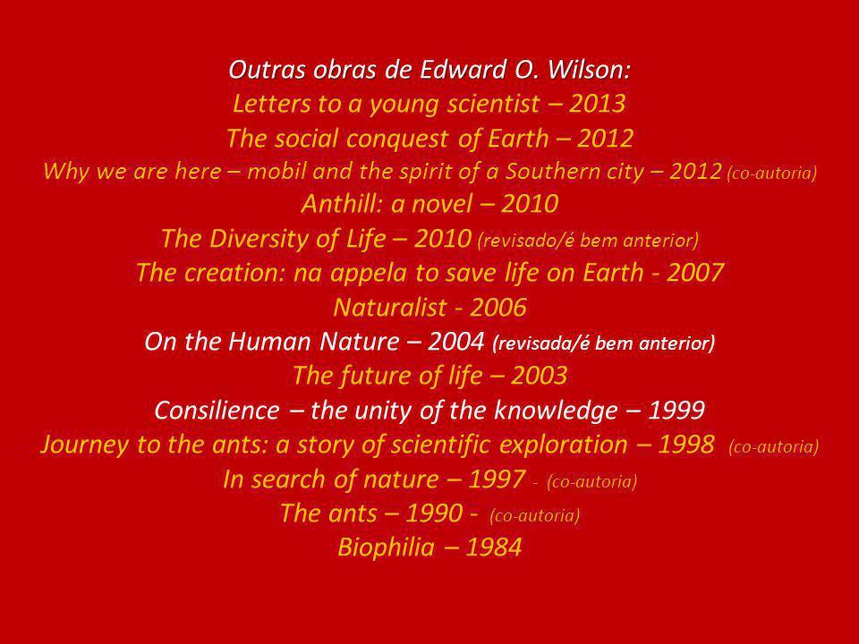 O Gene Egoísta O Gene Egoísta Richard Dawkins 1976