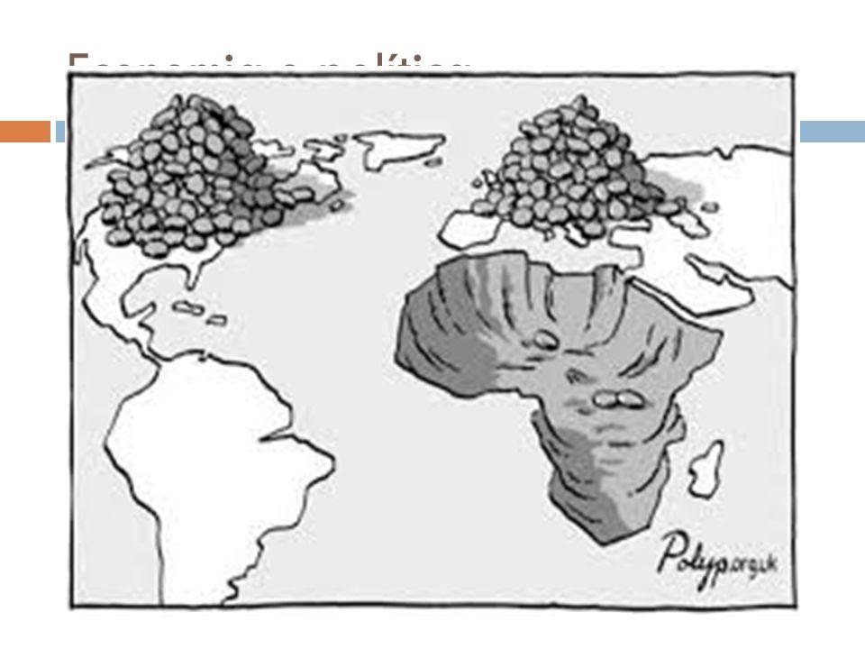 Economia e política Monocultura Concentração de terras Sementes transgênicas, agrotóxicos, mecanização Prejuízos sociais e ambientais
