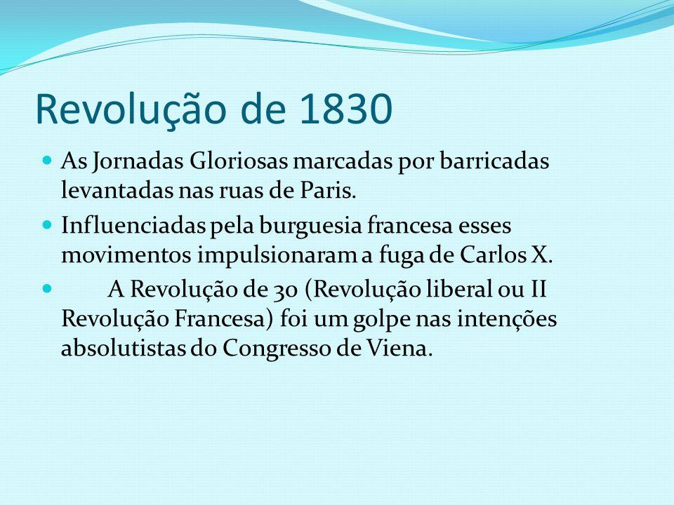 Governo dos Banqueiros 1830 - 48 O governo dos Banqueiros era uma Monarquia Constitucional.