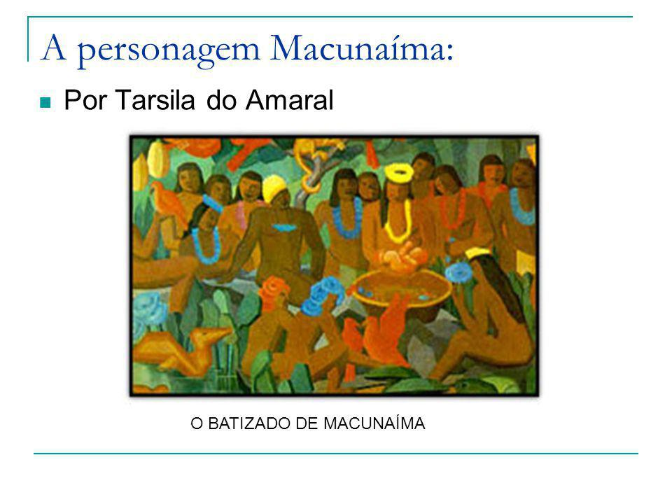 A personagem Macunaíma: Por Tarsila do Amaral O BATIZADO DE MACUNAÍMA