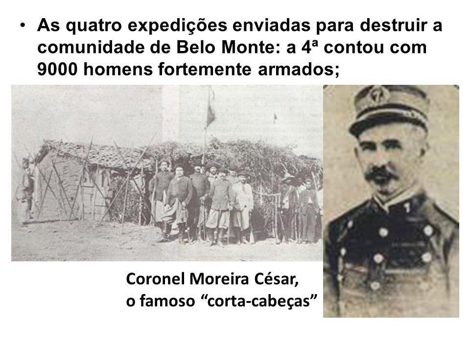 A Brazil Railway Company, que recebeu do governo 8 Km de cada lado da ferrovia iniciou a desapropriação das terras ocupadas até então por posseiros.