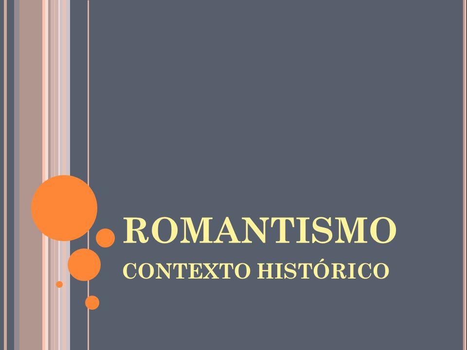 EVASÃO NO TEMPO O romântico busca no passado histórico de sua pátria (Idade Média) ou no seu passado histórico (infância) situações que ele considera ideais, por serem estáveis e equilibradas.