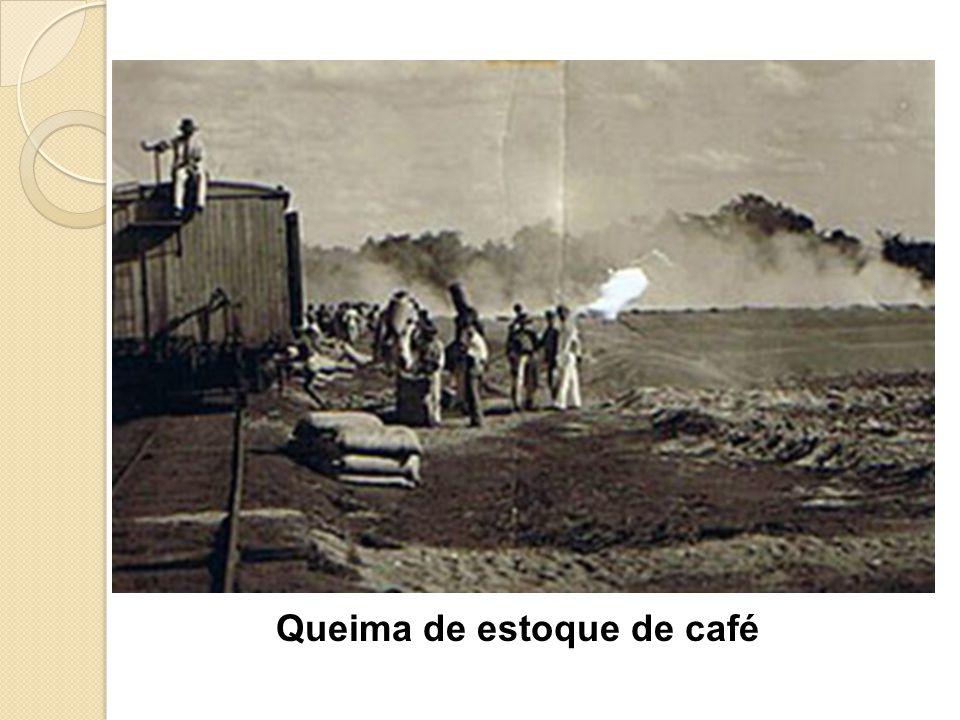 Queima de estoque de café