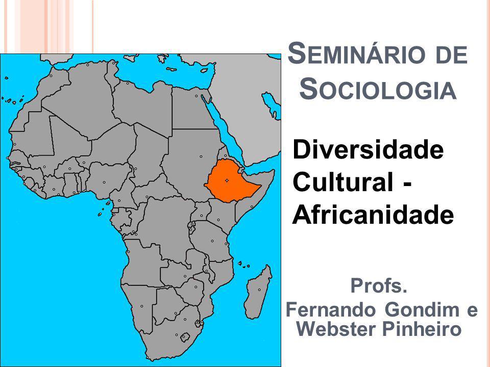 S EMINÁRIO DE S OCIOLOGIA Profs.