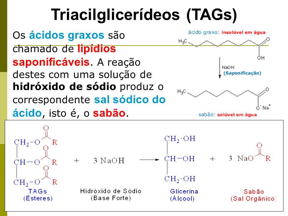 As moléculas de sabão são divididas em duas partes, uma cabeça hidrofílica (polar) e uma calda hidrofóbica (apolar) sabão Na água, estes sais formam micelas.