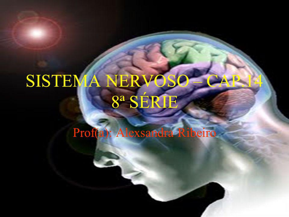 SISTEMA NERVOSO – CAP.14 8ª SÉRIE Prof(a): Alexsandra Ribeiro