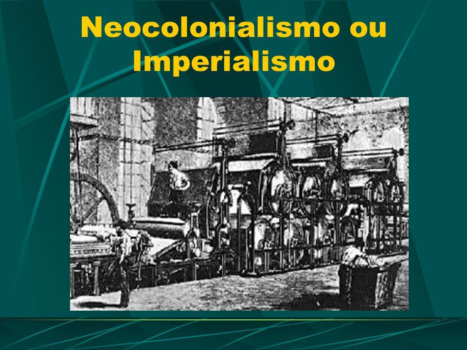 O processo de colonização: A dominação européia não teve limites.