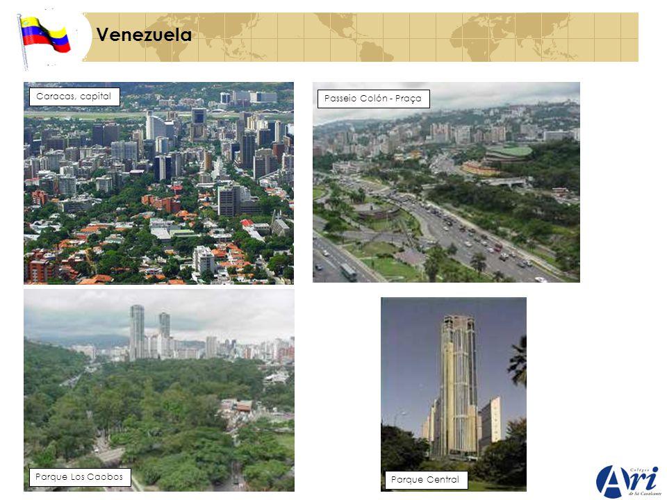 Venezuela Caracas, capital Passeio Colón - Praça Parque Los Caobos Parque Central