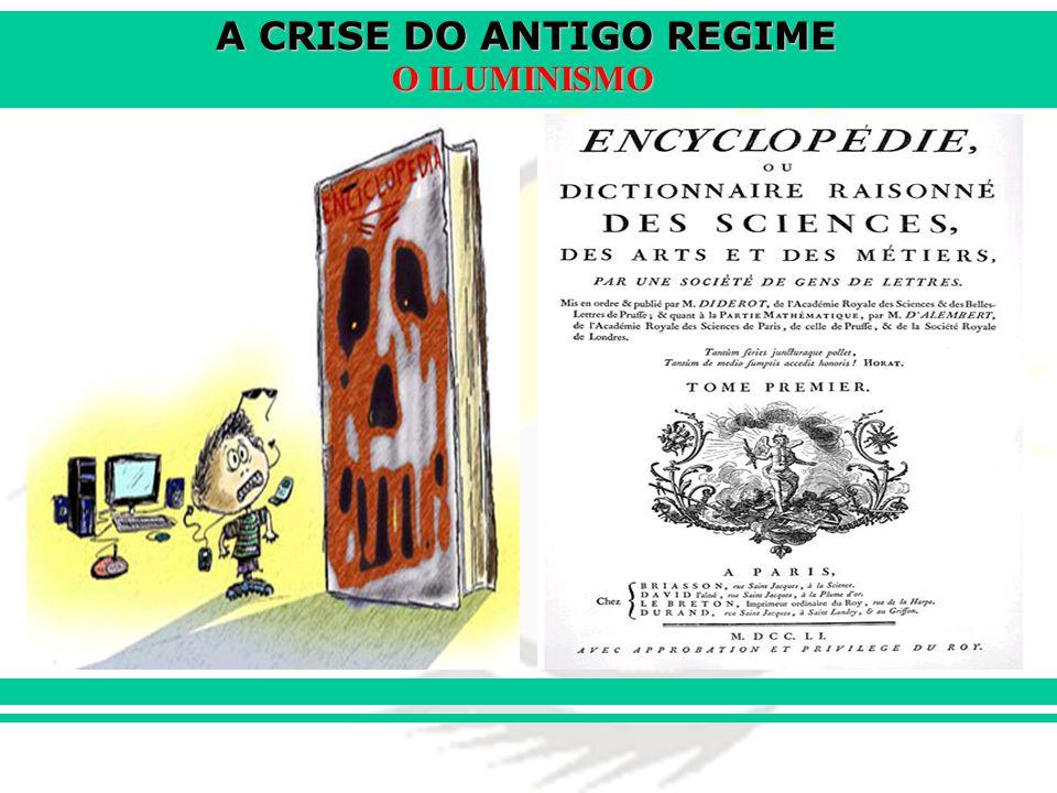 A CRISE DO ANTIGO REGIME O ILUMINISMO