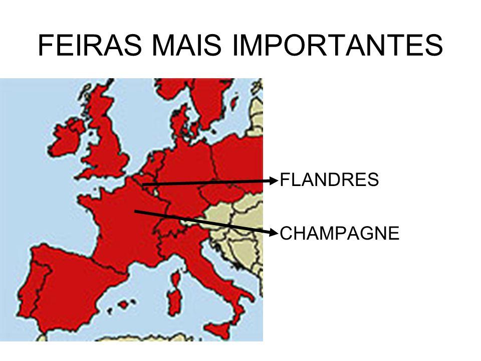 FEIRAS MAIS IMPORTANTES FLANDRES CHAMPAGNE