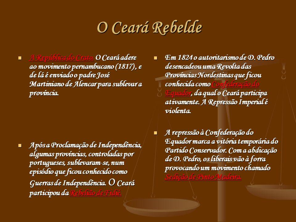 O Ceará Rebelde A República do Crato.