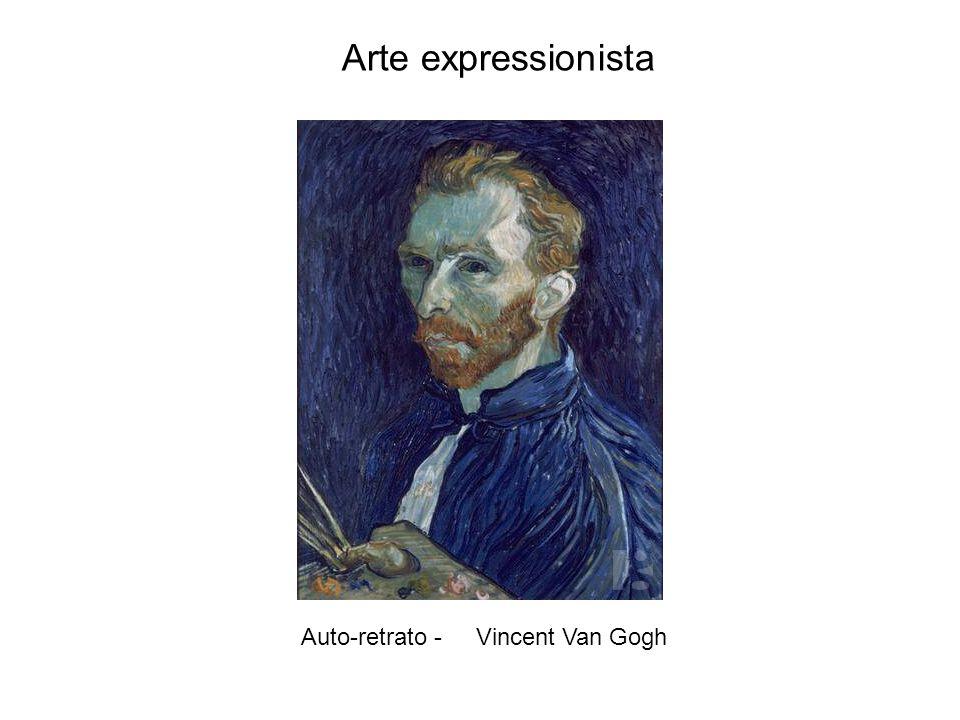 Auto-retrato - Vincent Van Gogh Arte expressionista