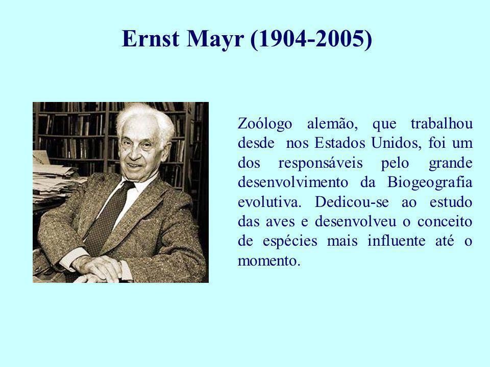 Theodosius Dobzhansky (1900-1975) Biólogo russo, que trabalhou nos Estados Unidos e no Brasil, foi um dos mais produtivos evolucionistas experimentais.