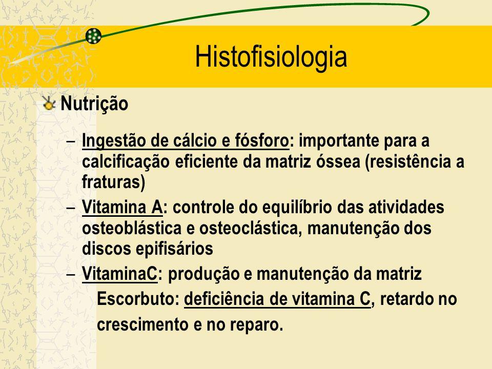 Histofisiologia Nanismo : retardo do crescimento em crianças com deficiência de HC. Gigantismo : crescimento exagerado dos ossos em crianças que produ