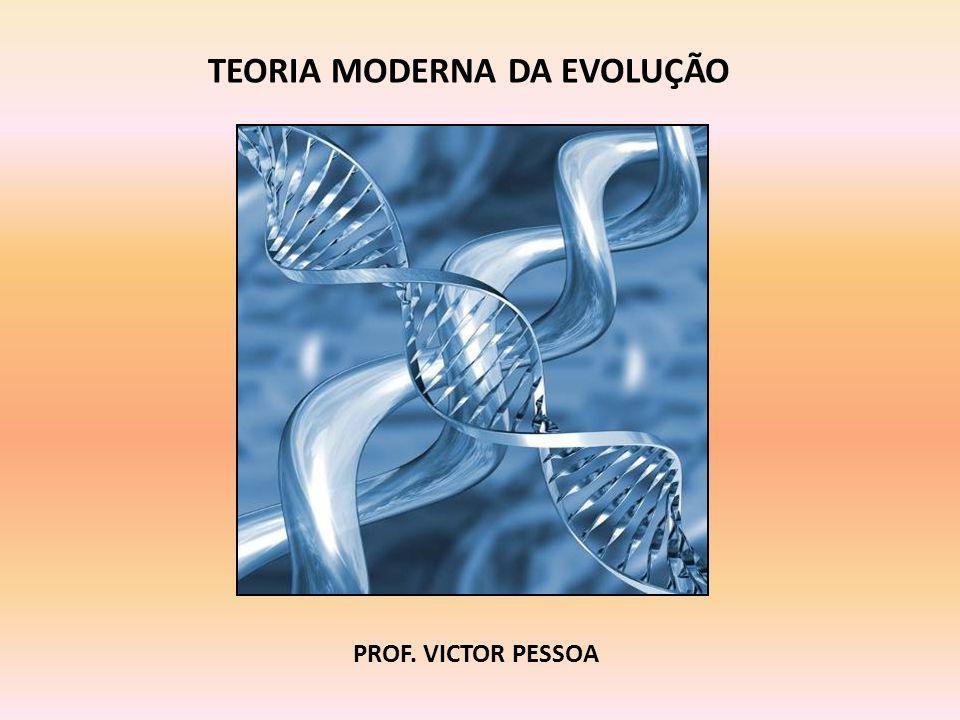 TEORIA MODERNA DA EVOLUÇÃO PROF. VICTOR PESSOA