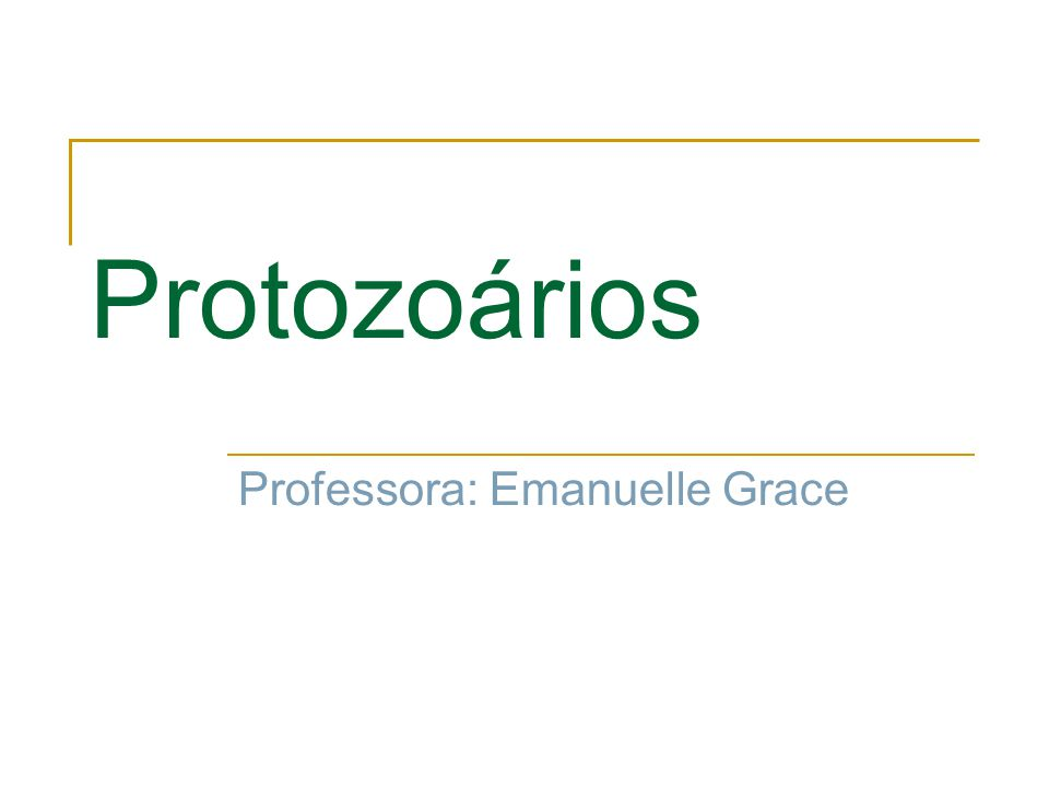Protozoários Professora: Emanuelle Grace
