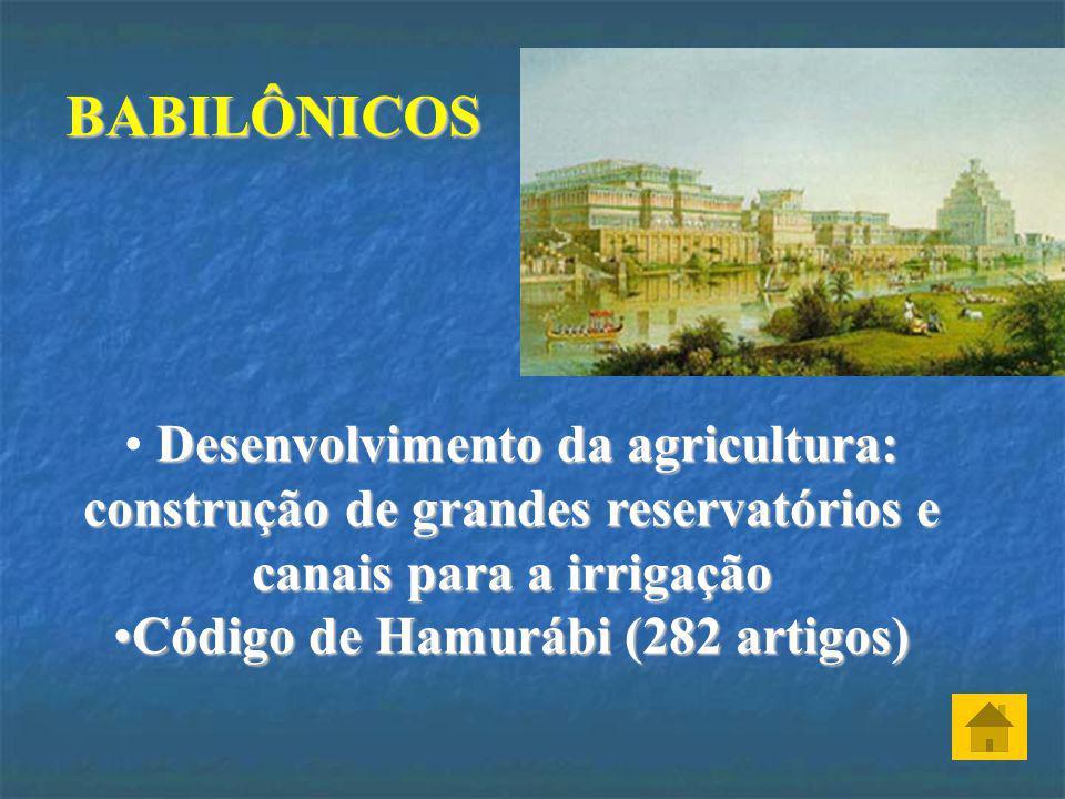 BABILÔNICOS ( AMORITAS)