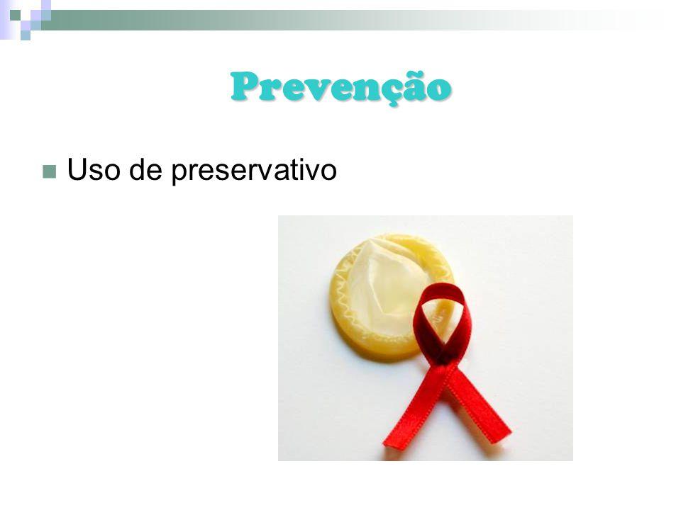 Prevenção Uso de preservativo