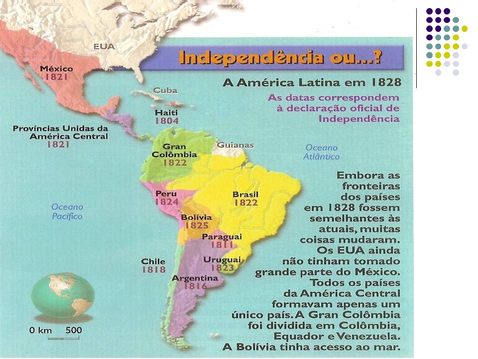 Rebelião escrava no Haiti Liderada por Toussaint- L Ouverture, o Espártaco Negro , houve, na colônia francesa que viria a se transformar no Haiti, uma rebelião de escravos que, iniciada no fim no século XVIII e inspirada na revolução francesa, resultou na expulsão da pequena elite branca de donos de terra e, em 1804, na independência do país, conquistada no enfrentamento com os exércitos de ninguém menos do que Napoleão Bonaparte.
